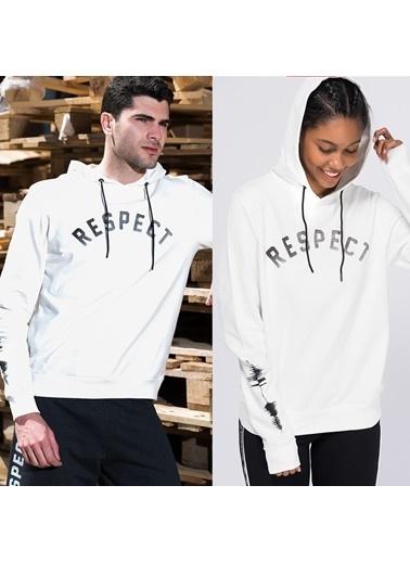 New Balance Sweatshirt Beyaz